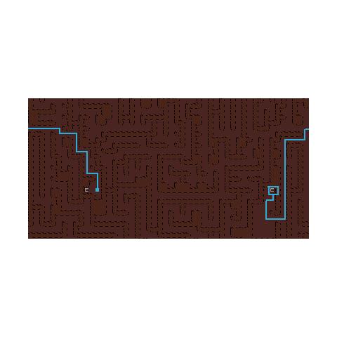 Inside Maze