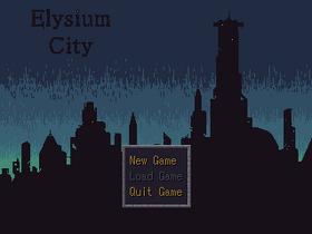 Elysium City Title