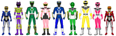 Extra Rangers and Megaforce Cubs