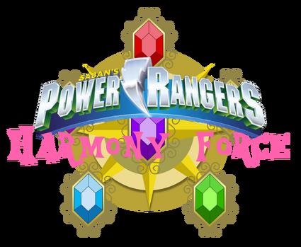 Power Rangers Harmony Force Logo