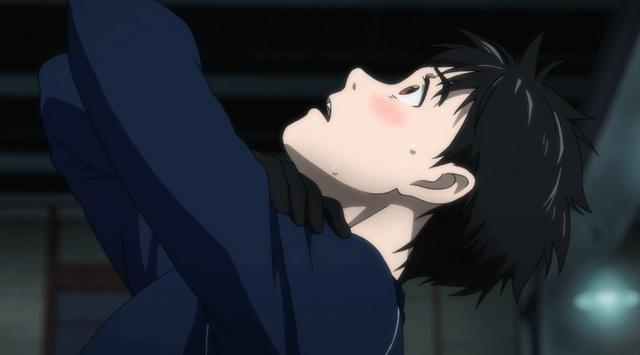 File:Yuuri after his imitation of Viktor.png