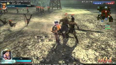 DWO Eastern Sword - Move Set