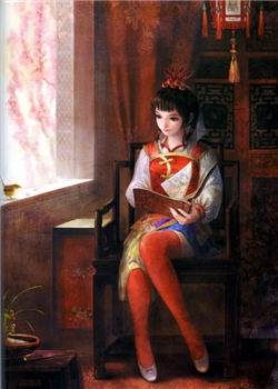 429px-Da Qiao Dynasty Warriors 5 Artwork