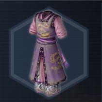 Purple Guard Clothes
