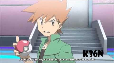 Pokemon Origins AMV Red VS Green & Mewtwo Linkin Park