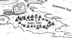 Impic Alps (map)