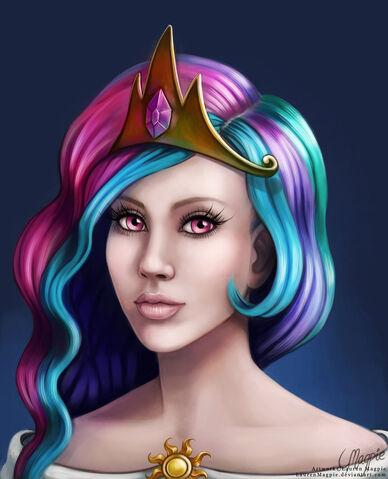 File:Princess celestia by laurenmagpie-d52jpws.jpg