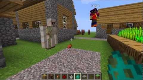 Minecraft Update (12w08a Snapshot) - Iron Golem