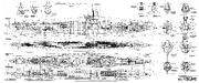 German-ww2-submarine-general-plan-7d-vii-d