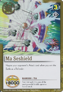 Ma Seshield card