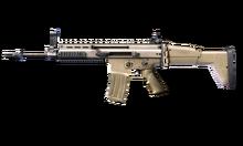 W m rifle scar 1 측면