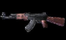 W m rifle ak 47 측면