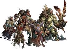 Green horde orcs