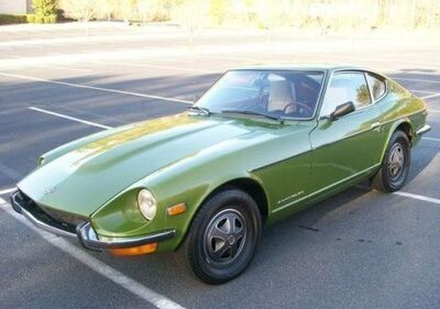 1972 Datsun 240Z green