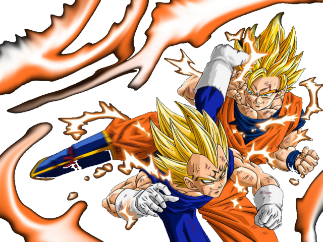 File:Majin Vegeta vs Goku.png