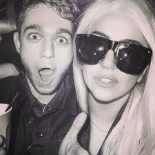 File:Lady Gaga and Zedd (black and white).jpg