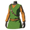 Breath of the Wild amiibo Rune Items (Classic Hero's Clothes Armor Set) Tunic of the Hero (Icon).png