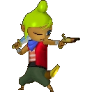 Hyrule Warriors Legends Tetra Standard Outfit (Great Sea - Niko Recolor)