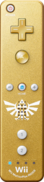 Gold Wii Remote Plus