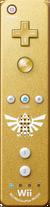 Gold Wii Remote Plus