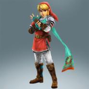Hyrule Warriors Legends Link Hero's Clothes (Wind Waker - Daphnes Nohansen Hyrule Recolor)