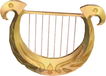 File:Skyward Sword Goddess's Harp (Render).png