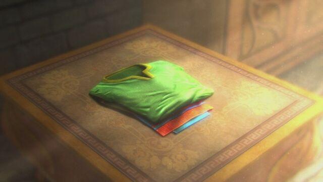 File:Hyrule Warriors Hero's Clothes Zelda's Bedchamber (Cutscene) WVW69iavE6E0XLE0Ec.jpg
