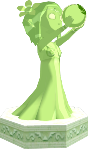 File:The Wind Waker Golden Goddess Statues Farore's Statue (Render).png