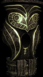 Hyrule Warriors Dominion Rod Owl Statue (Model Render)