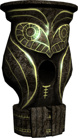 File:Hyrule Warriors Dominion Rod Owl Statue (Model Render).png