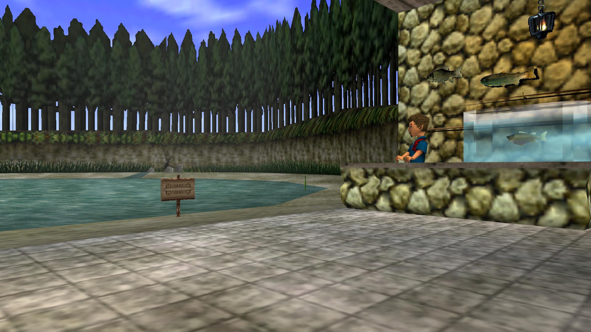 Fishing Pond Zeldapedia Fandom Powered By Wikia