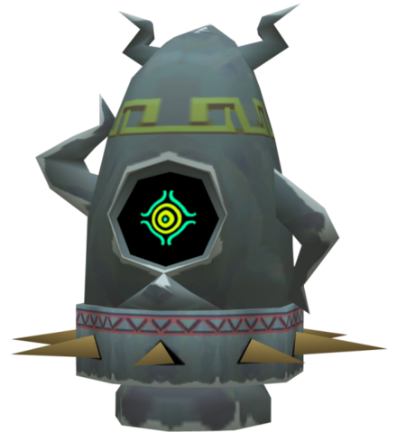 File:The Wind Waker Figurines Armos (Render).png