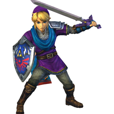 File:Hyrule Warriors Link Hero's Clothes (Master Quest - Purple Tunic Recolor).png