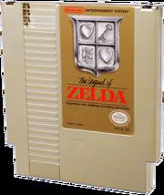 The Legend of Zelda Gold NES Cartridge