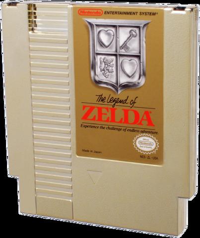 File:The Legend of Zelda Gold NES Cartridge.png
