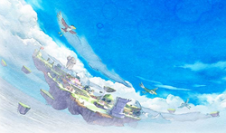 Artwork of Skyloft