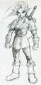 Majora's Mask Beta Adult Link (Concept Artwork).png