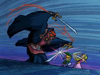 Link vs. Ganondorf (The Wind Waker)