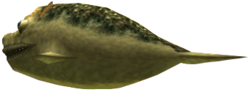 Majora's Mask 3D Boss Fish Lord Chapu-Chapu (Swamp Fishing Hole)