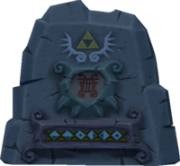 The Wind Waker Songs Earth God's Lyric (Stone Inscription Render)