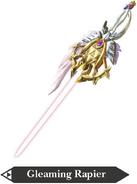 Hyrule Warriors Rapier Gleaming Rapier (Render)