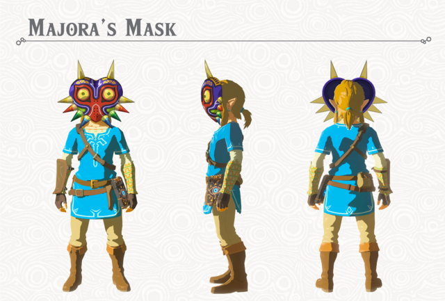 File:Breath of the Wild DLC Armor Majora's Mask (Head Armor).png