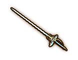 Hyrule Warriors Rapier Glittering Rapier (Level 2 Rapier)