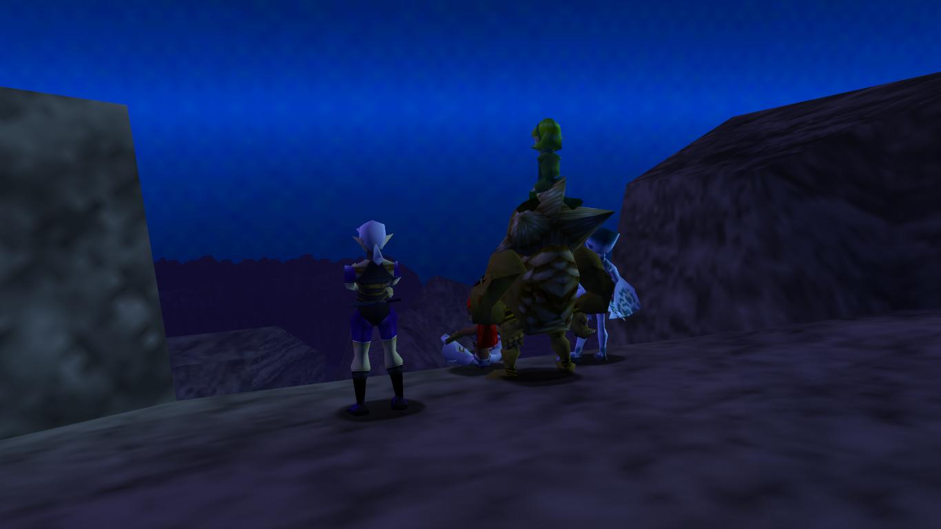 Seven Sages Ocarina Of Time Zeldapedia Fandom