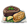 Breath of the Wild Food Dish (Salt-Grilled) Salt-Grilled Prime Meat (Icon).png