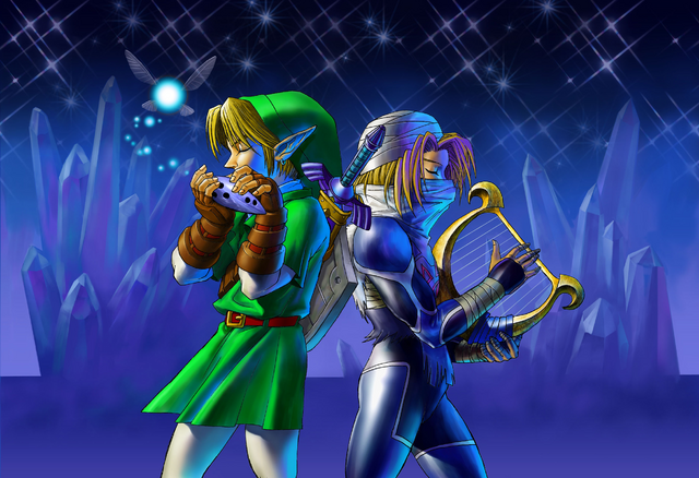File:Link and Sheik Duet.png