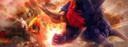 Hyrule Warriors Ganon's Fury Ganon VS Princess Zelda