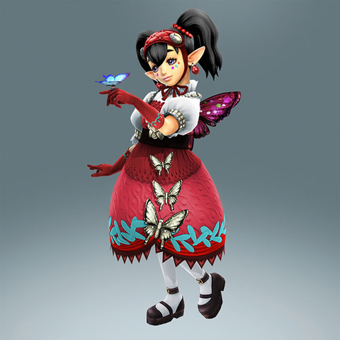 File:Hyrule Warriors Legends Agitha Standard Outfit (Koholint Island - Crazy Tracy Recolor).png