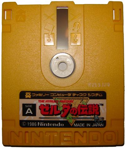 File:The Legend of Zelda Famicom Disk.png