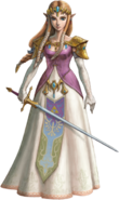 Twilight Princess HD Artwork Princess Zelda (Official Artwork)